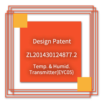 eYc-Design-Patent-ZL201430124877.2-Temp.-Humid.-Transmitter(EYC05)