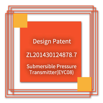 eYc-Design-Patent-ZL201430124878.7-Submersible-Pressure-Transmitter(EYC08)