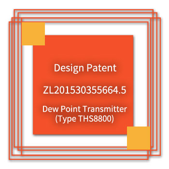 eYc-Design-Patent-ZL201530355664.5-Dew-Point-Transmitter(Type-THS8800)