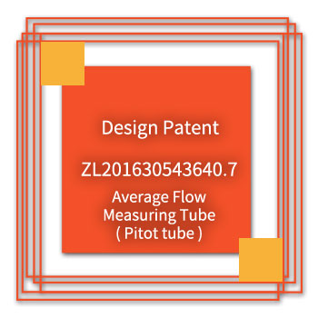 eYc-Design-Patent-ZL201630543640.7-Average-Flow-Measuring-Tube(Pitot-Tube)