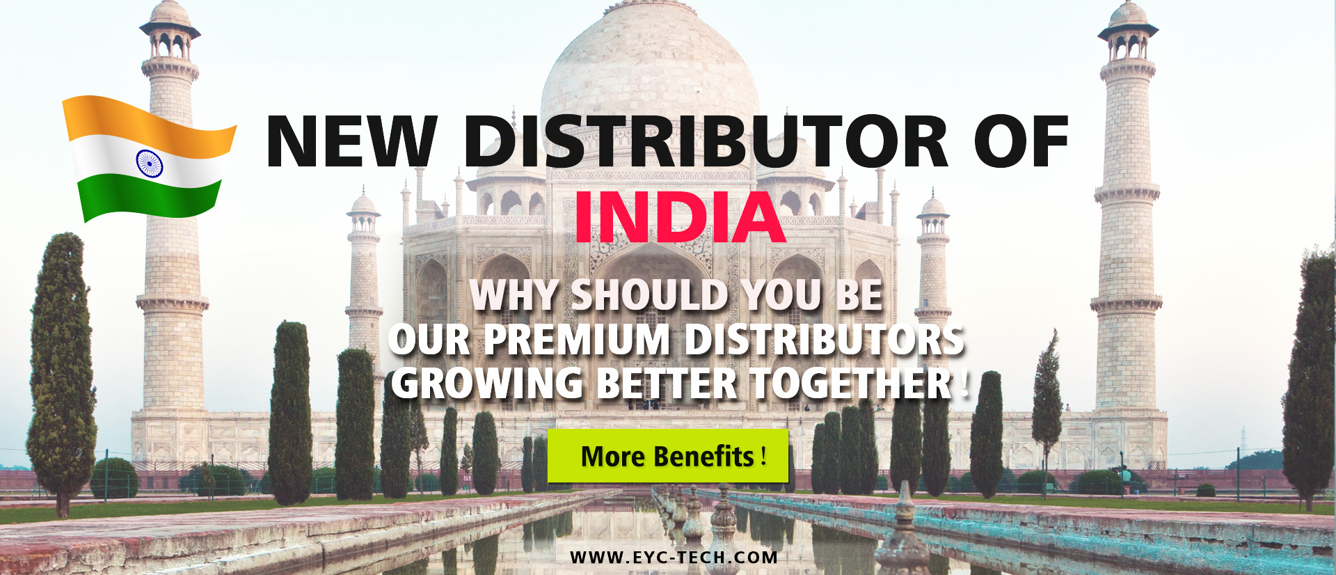 eYc New Premium Distributor of India 2018