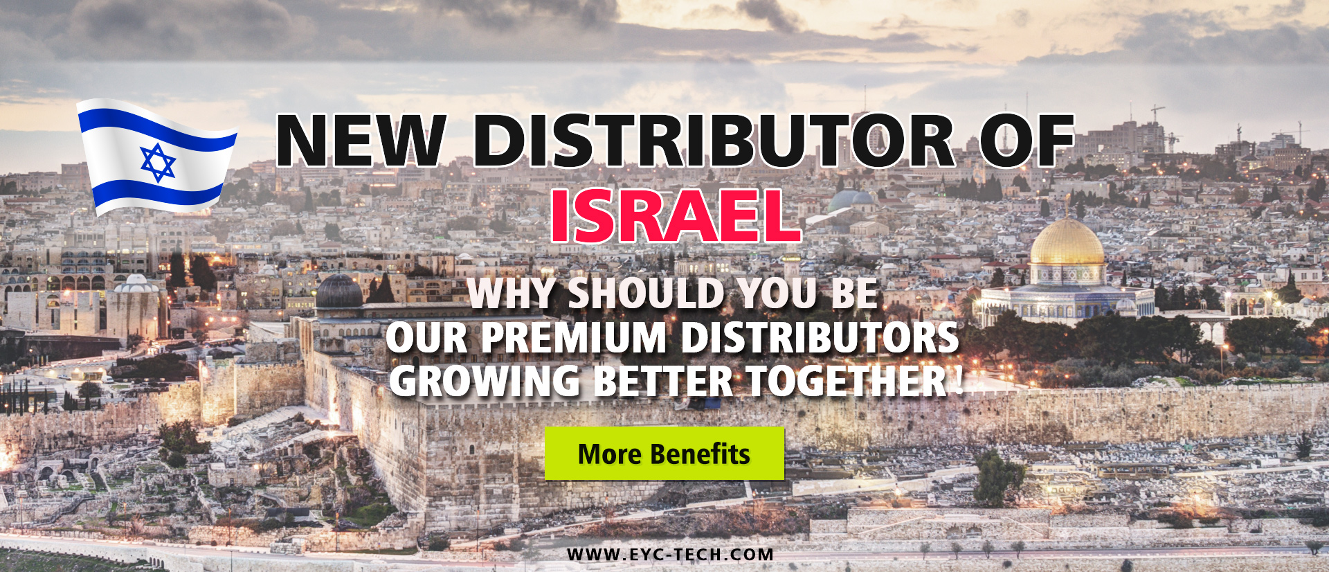 eYc New Premium Distributor of Israel 2018