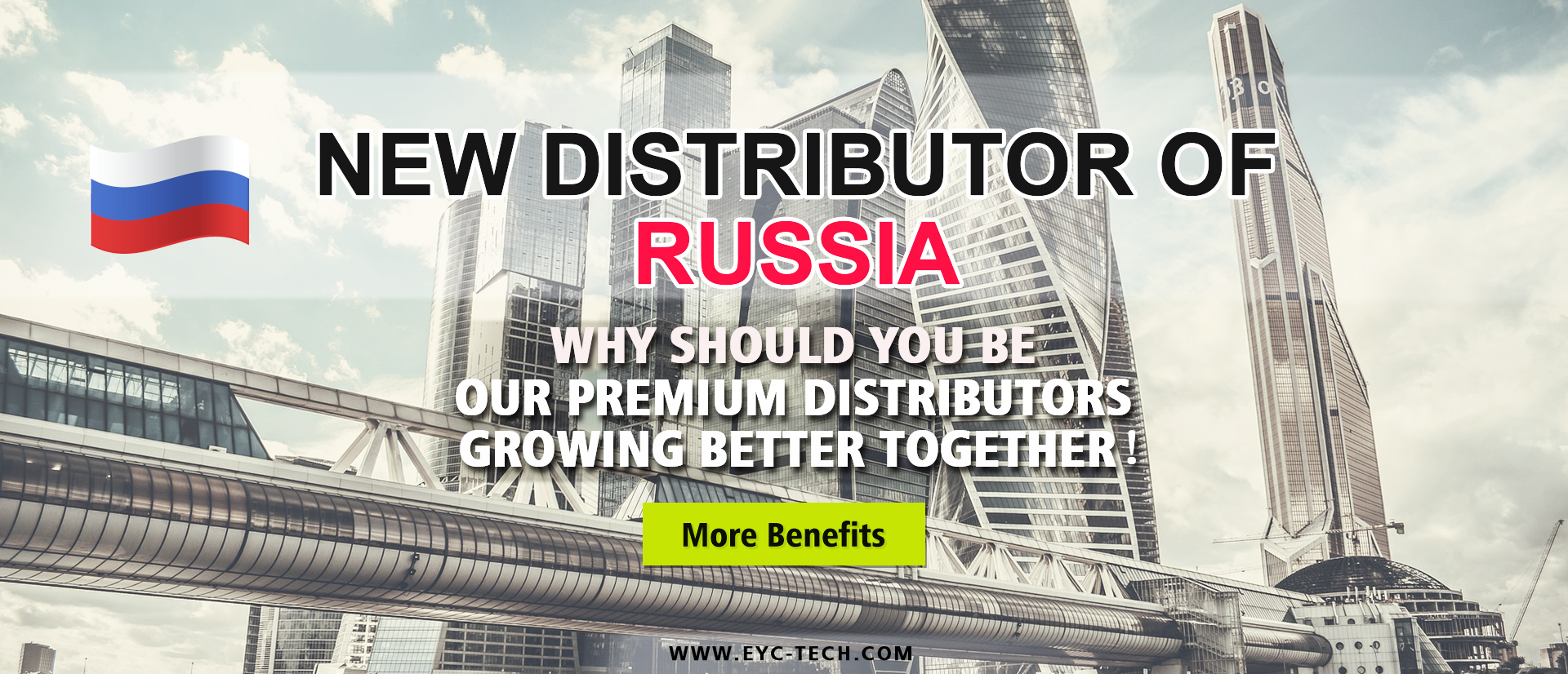 eYc New Premium Distributor of Russia 2018