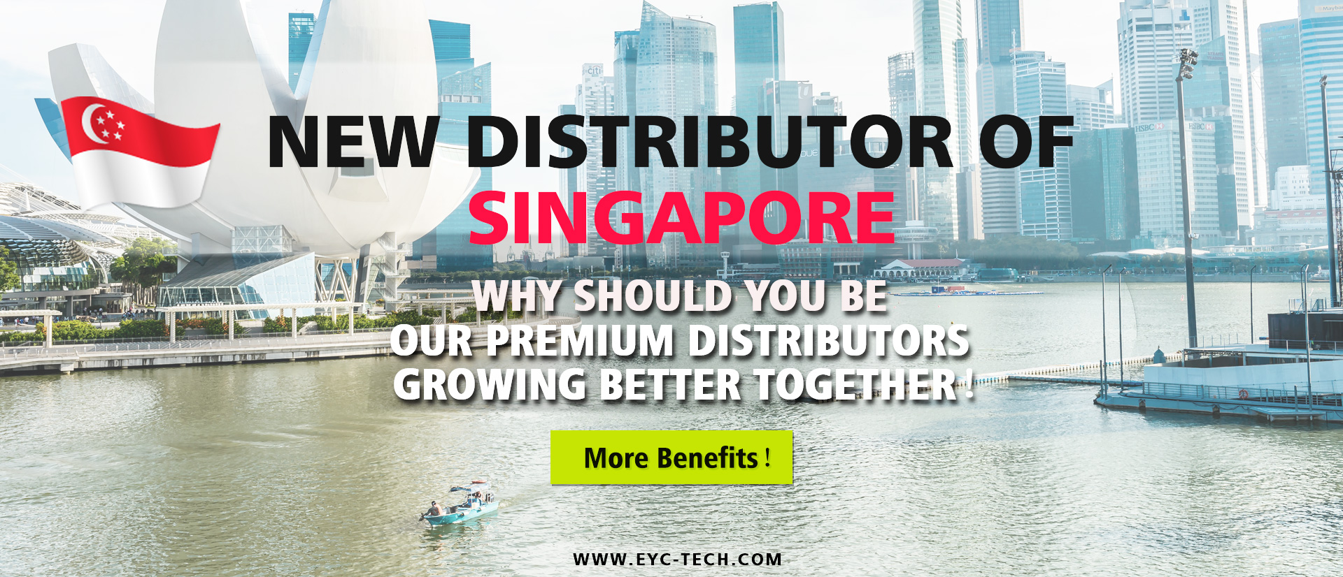 eYc New Premium Distributor of Singapore 2018