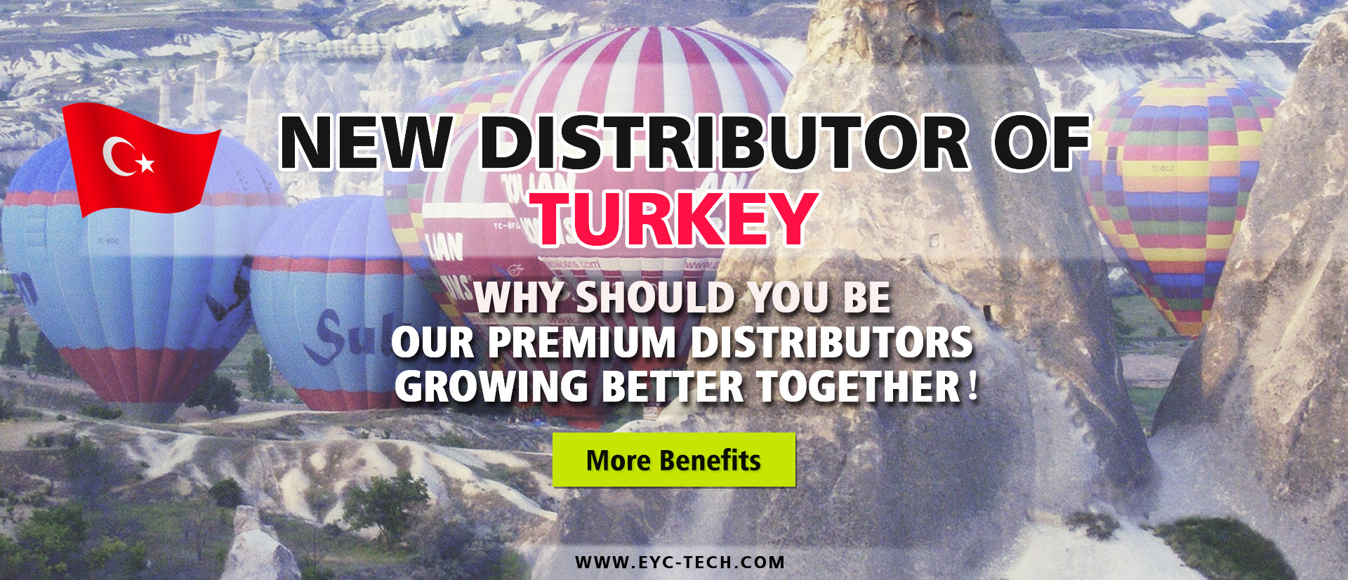 eYc New Premium Distributor of Turkey 2018
